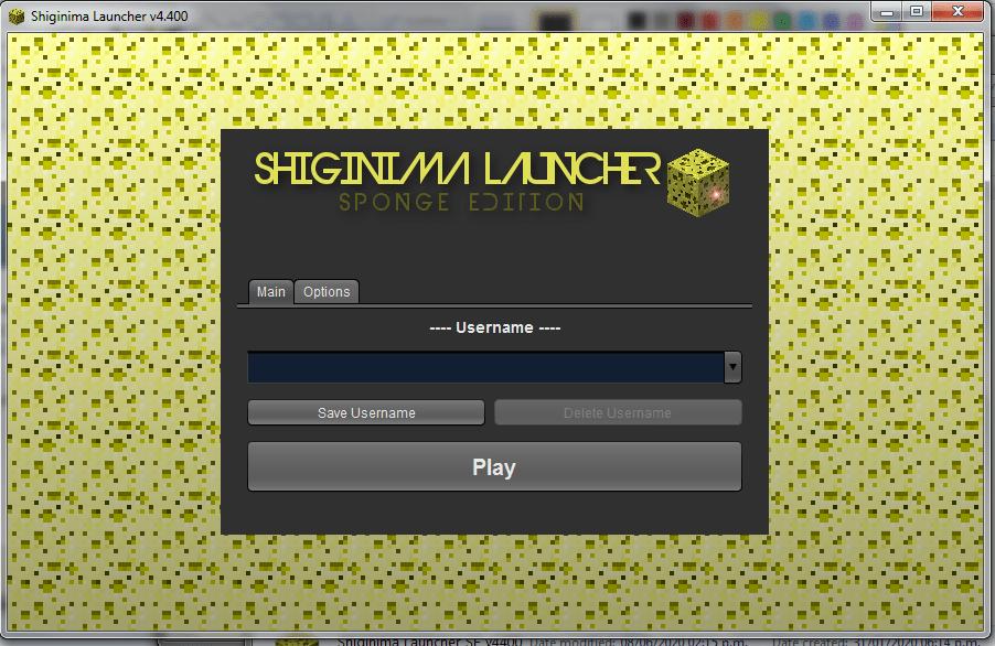 Nous avons ouvert le Lanceur Shiginima dans Windows