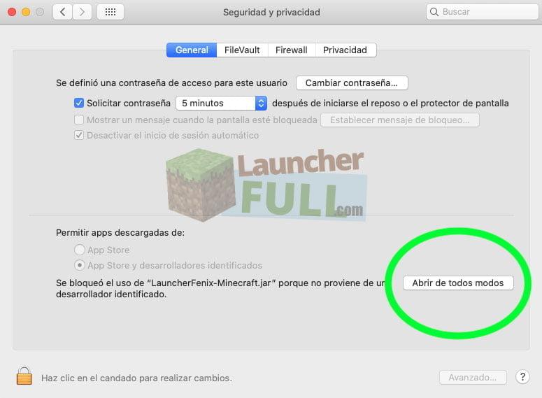 LauncherFenix jar a fost blocat de la utilizare