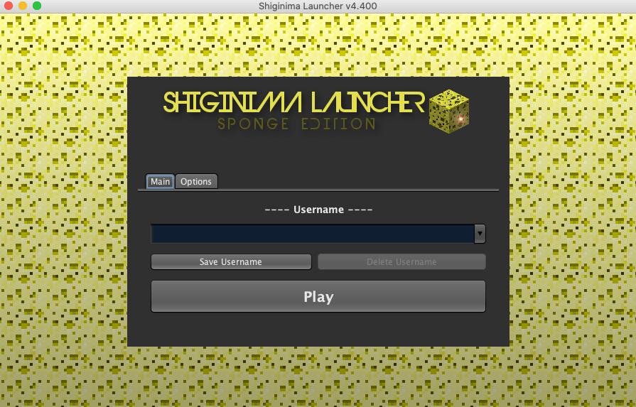 Shiginima Launcher téléchargé pour Mac OS