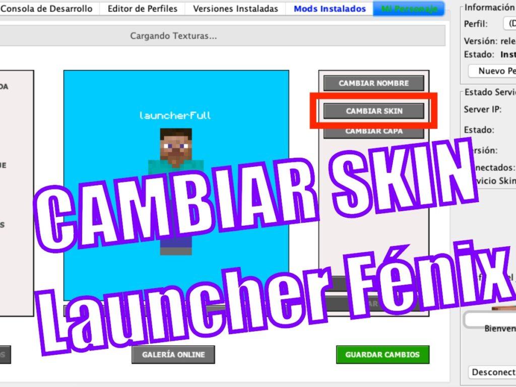Cambiar SKIN Launcher Fénix