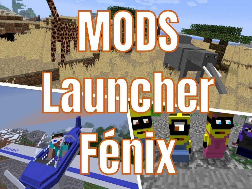 Mods para Minecraft con Launcher Fenix