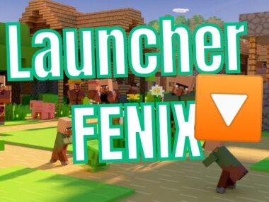 Cum să DESCARCĂ Launcher FENIX MINECRAFT  ⬇️